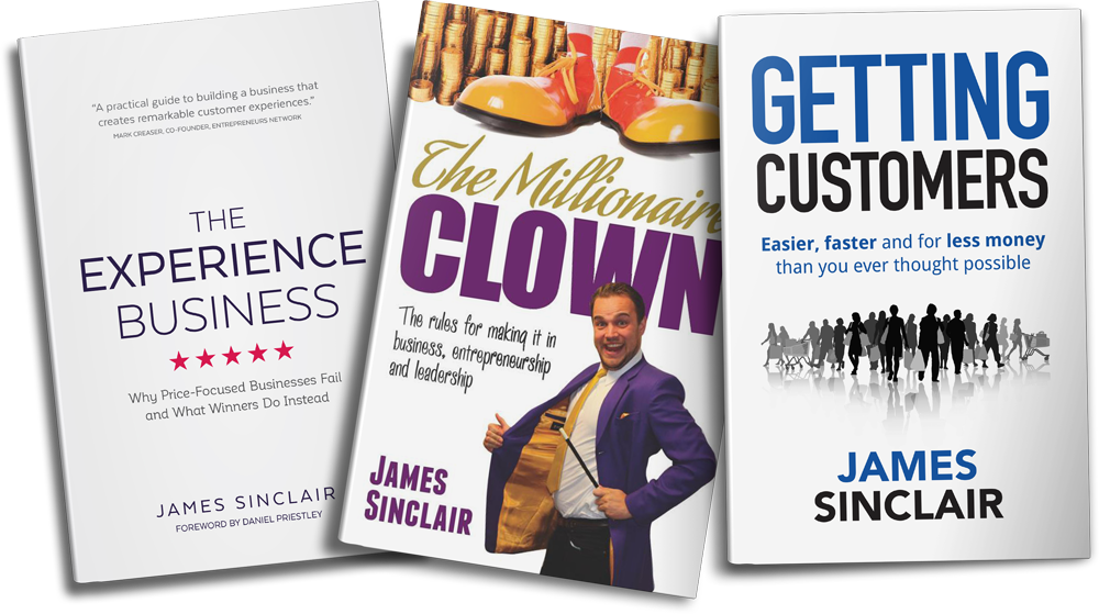 Get all 3 of my books!