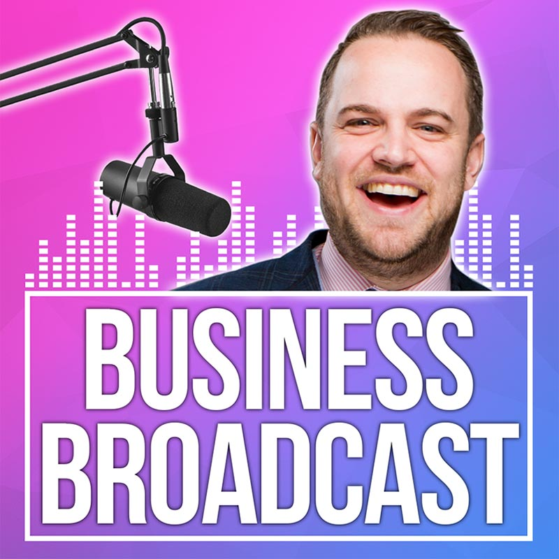 Listed to James Sinclair's business broadcast